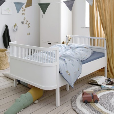 Sebra bed junior white Sebra