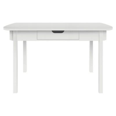 Sebra desk white