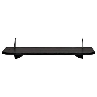 Aedes shelf black 50 cm