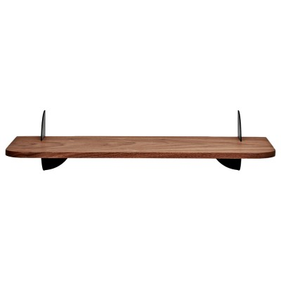 Aedes shelf walnut & black 50 cm