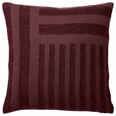 Contra cushion bordeaux