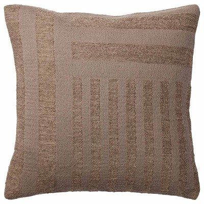 Coussin Contra taupe