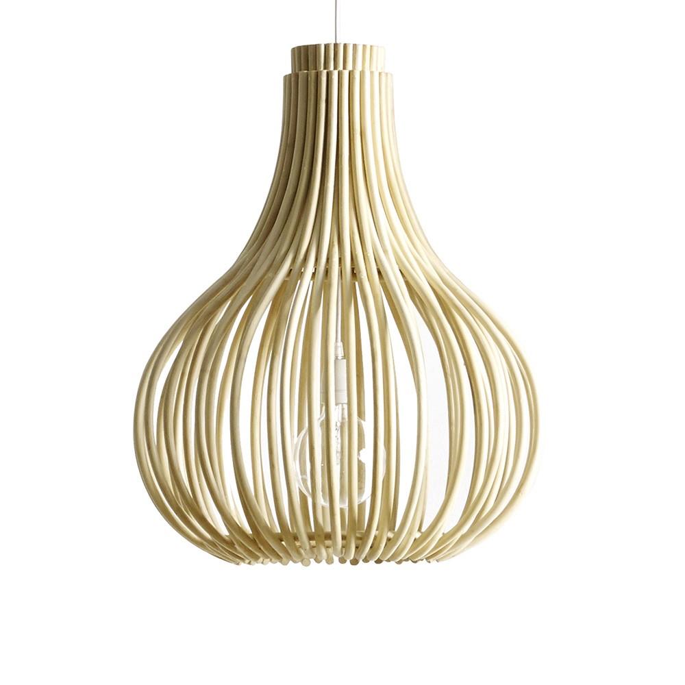 Suspension Bulb naturel