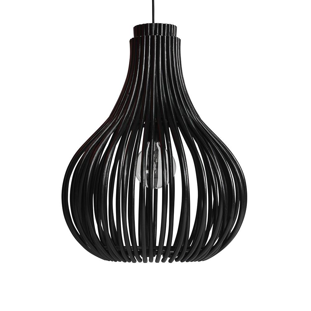 Bulb Pendant black