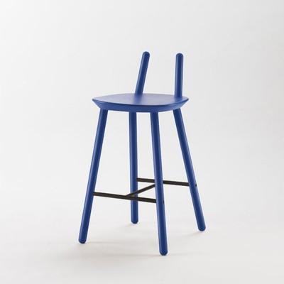 Chaise de bar Naïve Semi bleu