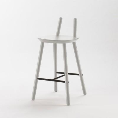 Chaise de bar Naïve Semi gris