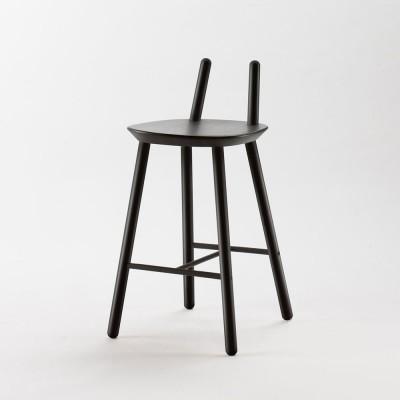Chaise de bar Naïve Semi noir