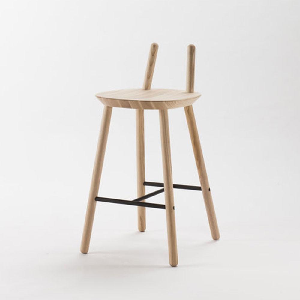 Chaise de bar Naïve Semi naturel