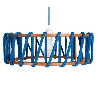Suspension Macaron bleu L