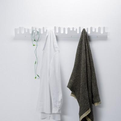 Porte-manteaux Wave blanc Design House Stockholm