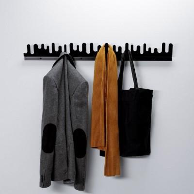 Porte-manteaux Wave noir Design House Stockholm