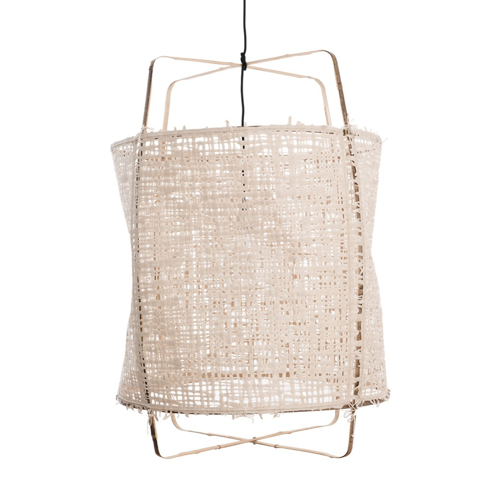 Z1 pendant lamp paper natural