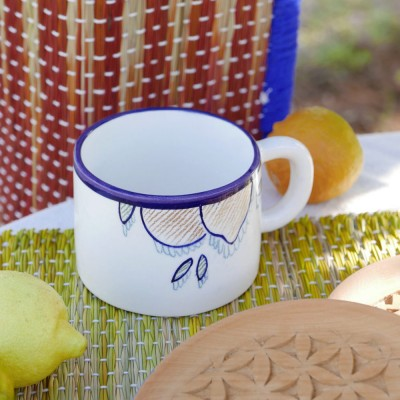 Citrus mug (set of )