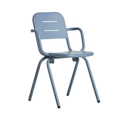 Ray café armchair blue