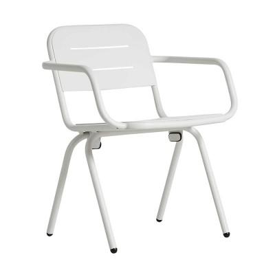 Chaise Ray blanc (lot de 2)