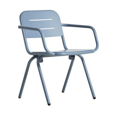 Ray dining chair blue (set of 2)