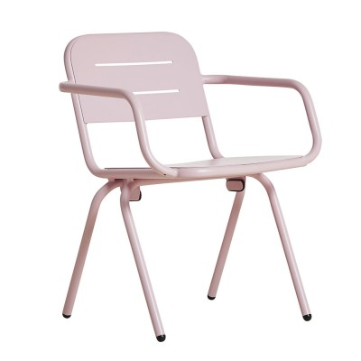 Ray dining chair rose pink (set of 2)