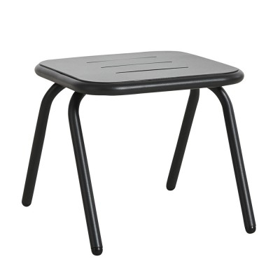 Ray lounge table charcoal black