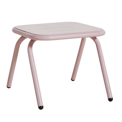 Ray lounge table rose pink