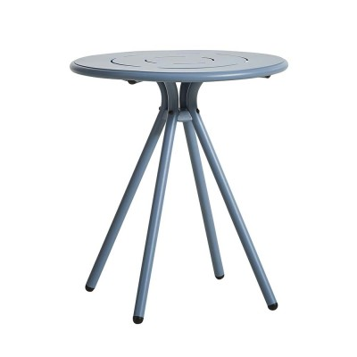 Ray Round café table blue Woud