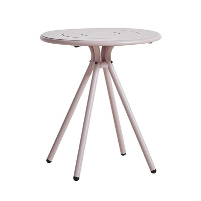 Table de café Ray Round rose pink