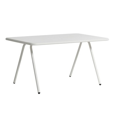 Ray dining table white 140 cm