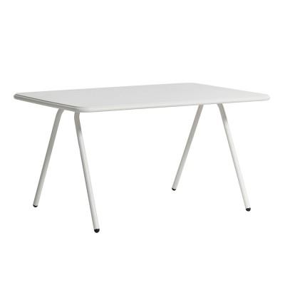 Table à manger Ray blanc 140 cm