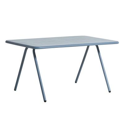 Table à manger Ray bleu 140 cm
