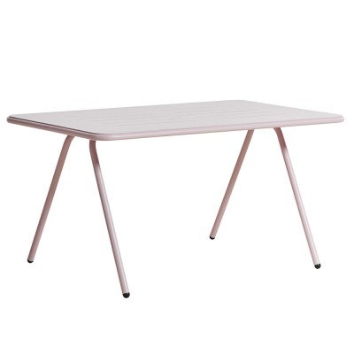 Ray dining table rose pink 140 cm