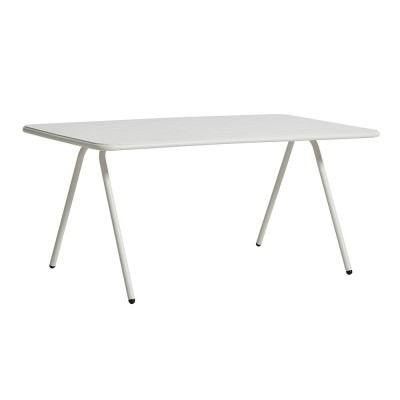Ray dining table white 160 cm