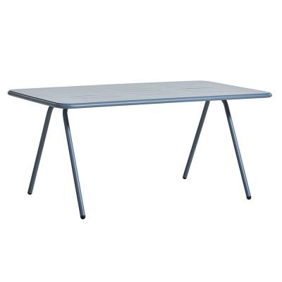 Table à manger Ray bleu 160 cm