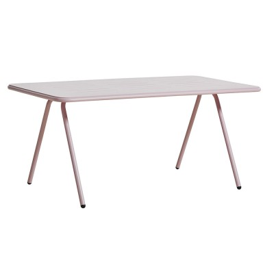 Ray dining table rose pink 160 cm