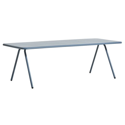 Table à manger Ray bleu 220 cm