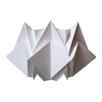 Applique murale Kabe papier blanc Tedzukuri Atelier