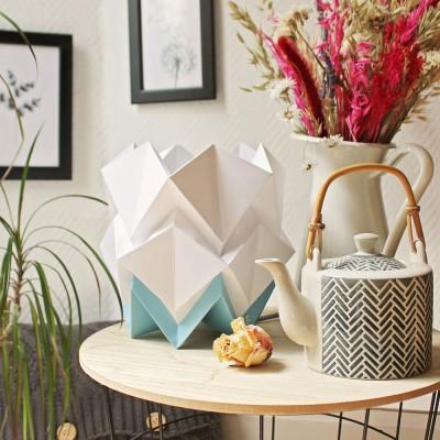 Kabe wall light paper white Tedzukuri Atelier