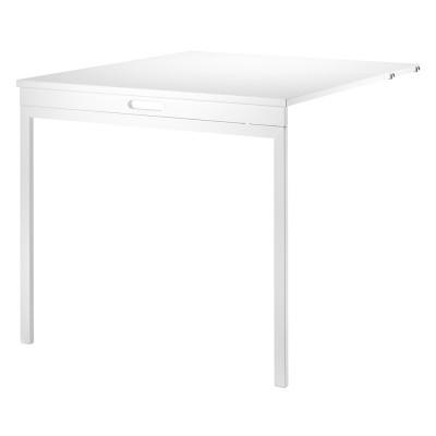 Table pliante blanc pour système d'étagères String