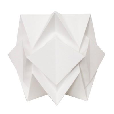 Hikari table lamp paper white Tedzukuri Atelier