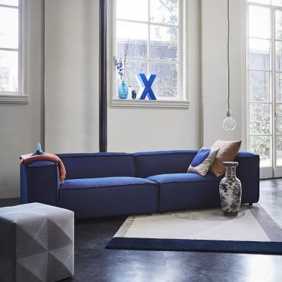 Dunbar sofa 3 seaters Sprinkles 0784 Parrot