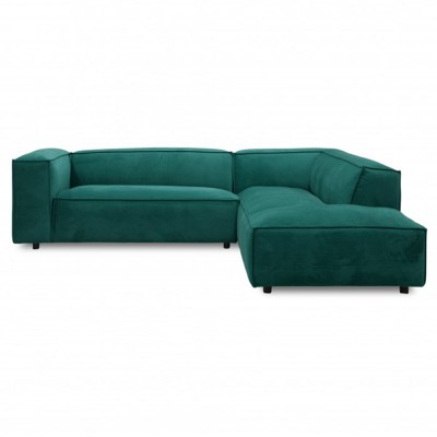 Dunbar sofa 3 seaters with longchair Juke 162 Forest Fést