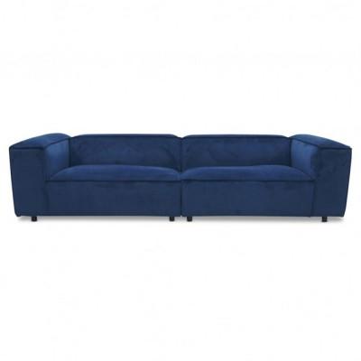 Dunbar sofa 3 seaters Juke 45 Blue
