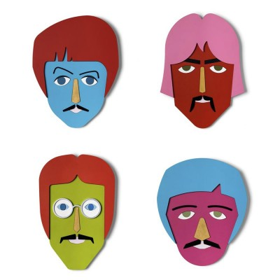 The Beatles mask