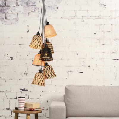 Kalimantan 7 shades pendant lamp
