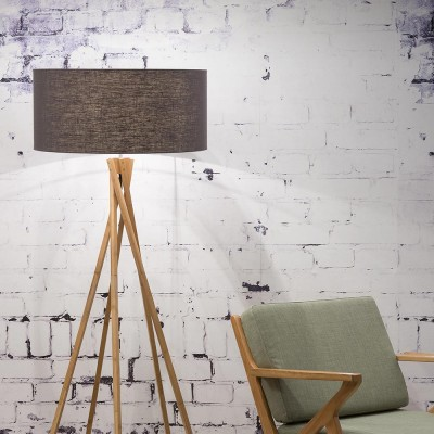 Kilimanjaro floor lamp linen dark grey