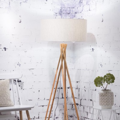 Kilimanjaro floor lamp linen light