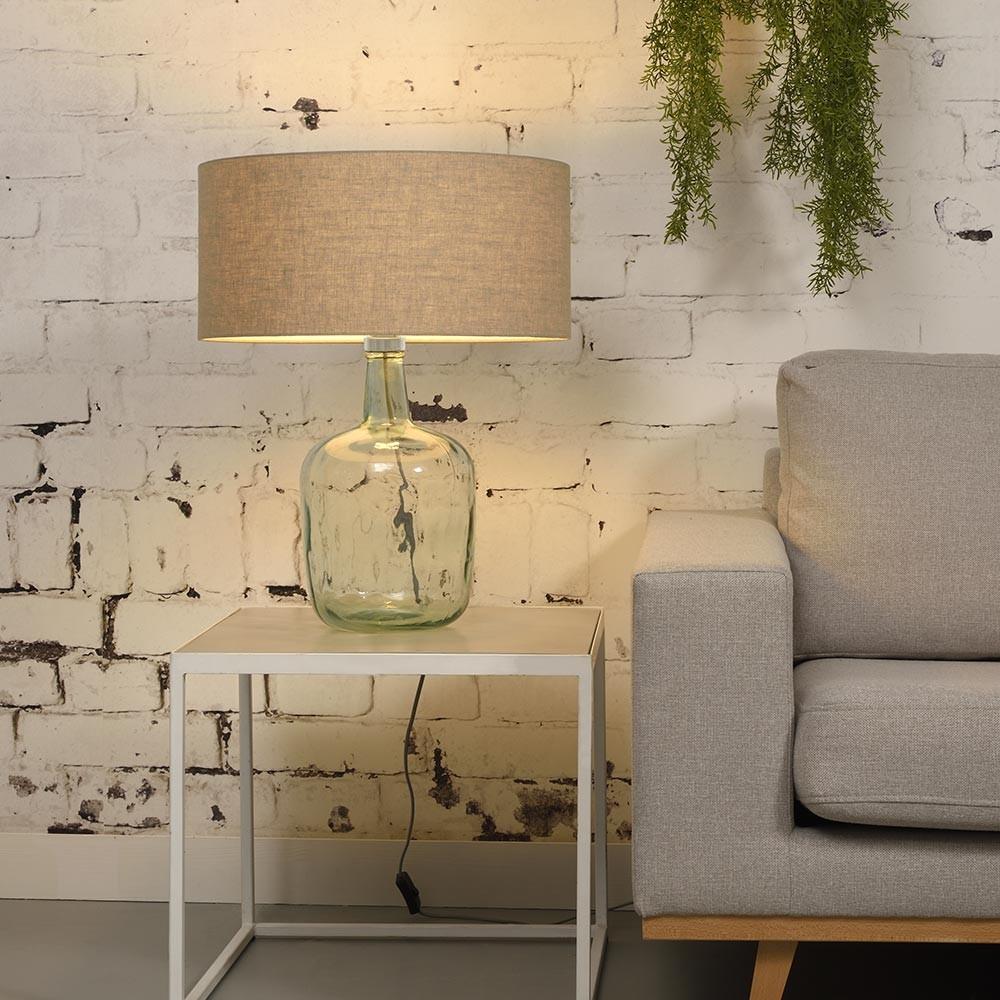 Murano table lamp light linen L