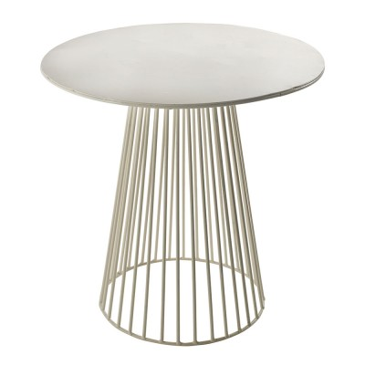 Garbo coffee table white Ø40 cm Serax
