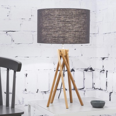 Kilimanjaro table lamp linen dark grey