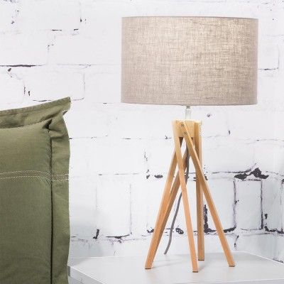 Kilimanjaro table lamp dark linen