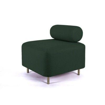 Bovari ottoman teal green velvet ENOstudio