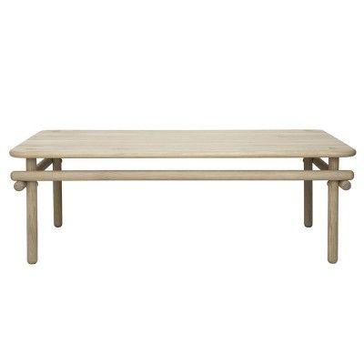 Table basse Woomar chêne naturel